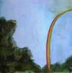 maggie island peace rainbow