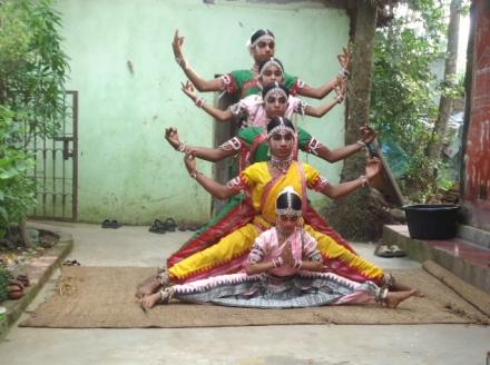 Gotipua dance troupe